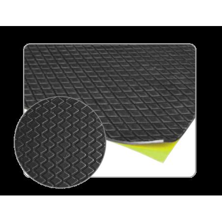 20 plaques de bitume insonorisantes adhésives 250mm x 500mm