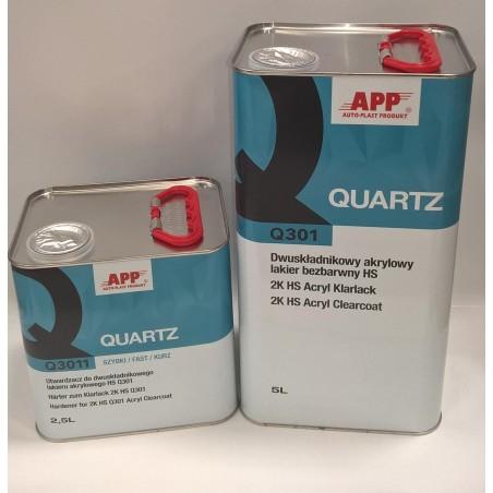 Vernis + durcisseur Quartz APP  7l5