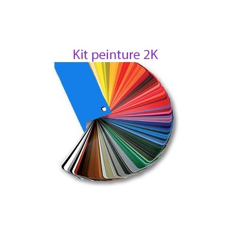 Peinture 2K brillant direct à la demande
