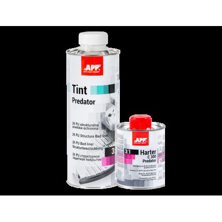 Cartouche revêtement de protection structuré bi-composant à teinter /Tint  Predator APP