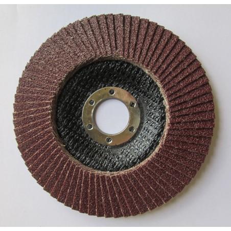 Disque à lamelles abrasives pour acier Diam.125mm P80