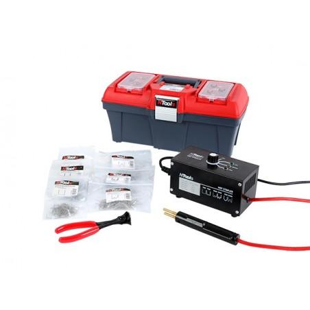 Kit de réparation des plastiques par soudure d'agrafes