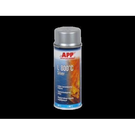 Spray haute température 800 c gris 400ml